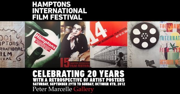 HIFF is Celebrating 20 Years with a Retrospective of Artist Posters at the Peter Marcelle Gallery Starting September 29th