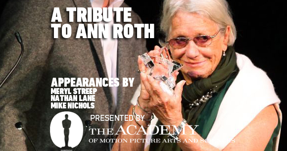 VIDEO: A Tribute to Ann Roth