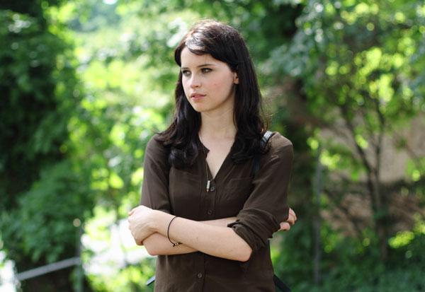 Felicity Jones in 'Breathe In'
