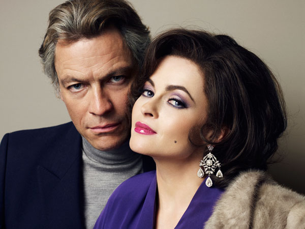 Dominic West and Helena Bonham Carter in 'Burton and Taylor'