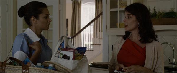 Paula Garces and Annabella Sciorra in The Maid's Room