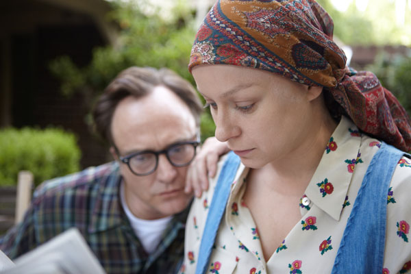 Bradley Whitford and Samantha Morton in 'Decoding Annie Parker'