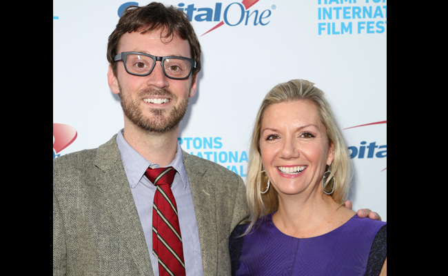 Hamptons International Film Festival Artistic Director David Nugent (L) and Hamptons International Film Festival Executive Director Anne Chaisson attend the 21st Annual Hamptons International Film Festival Opening Day on October 10, 2013 in East Hampton, New York. (Photo by Monica Schipper/Getty Images for The Hamptons International Film Festival)