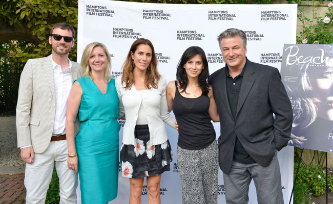David Nugent, Anne Chaisson, Christina Greeven Cuomo, Hilaria Baldwin and Alec Baldwin. Photo: Eugene Gologursky