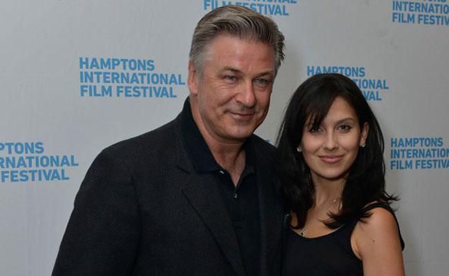 Alec Baldwin and Hilaria Baldwin. Photo: Eugene Gologursky