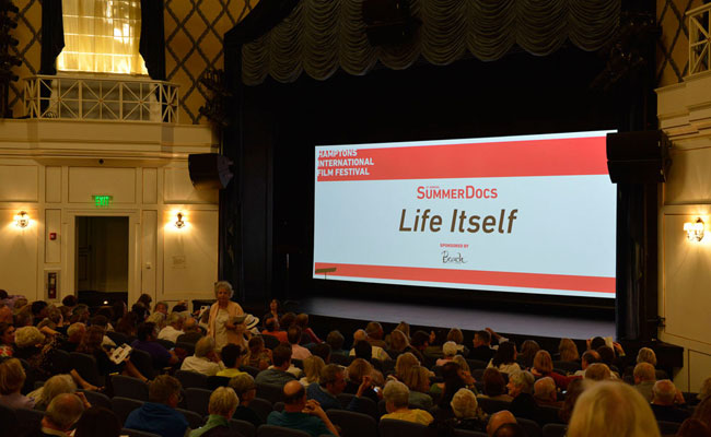 HIFF SummerDocs screening of 'Life Itself' at Guild Hall of East Hampton on June 21, 2014. Photo: Eugene Gologursky