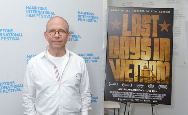 Bob Balaban at SummerDocs screening of Last Days in Vietnam: August 16, 2014. Photo: Eugene Gologursky