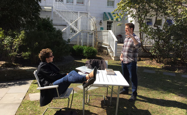 HIFF Screenwriters Lab 2015 Perlman Goodman