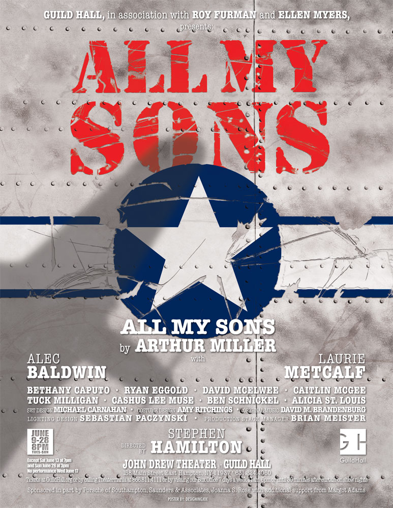 all my sons play by arthur Written by arthur miller in 1947, all my sons is a tragic play set in post wwii suburbia and is considered an american classic directed by elia kazan, the play opened on broadway in 1947 and ran for 327 performances it received the new york city drama critics' circle award and tony awards for.