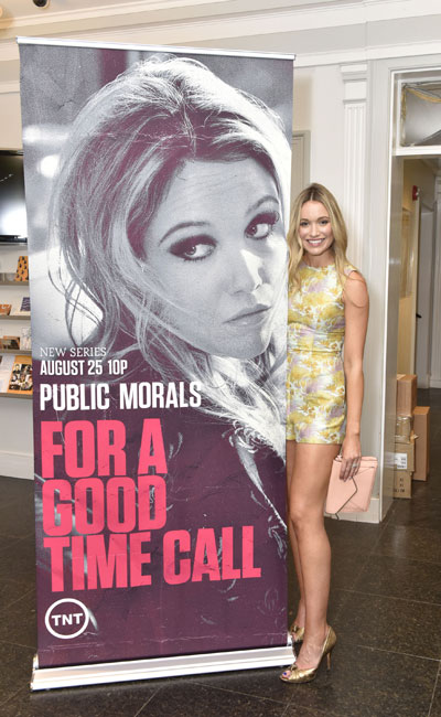 "Katrina Bowden at ""Public Morals"", a TNT Original Series, screening presented by HIFF and TNT, August 3, 2015. (Photo by Eugene Gologursky/Getty Images for HIFF)"