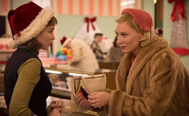 Sunday at #HIFF2015: CAROL, Michael Moore, Emily Blunt, Encore Screenings & More Movies!