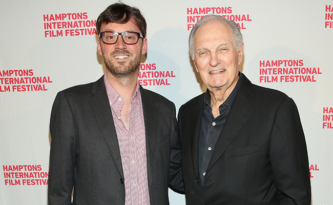 Monday Snapshots: HIFF 2015 Award Winners, Alec Baldwin and INDIAN POINT, Alan Alda and BRIDGE OF SPIES