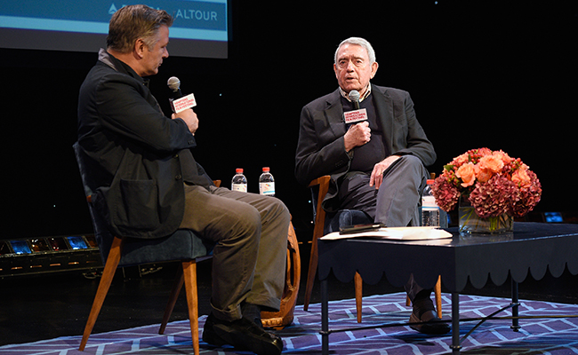Listen to A Conversation With Dan Rather on Alec Baldwin's 'Here's the Thing'