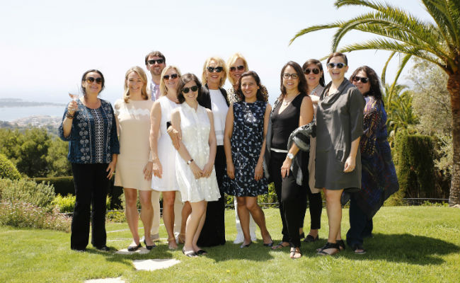 HIFF/IFP Luncheon at Cannes 2016, celebrating women in film and honoring Melissa Mathison.