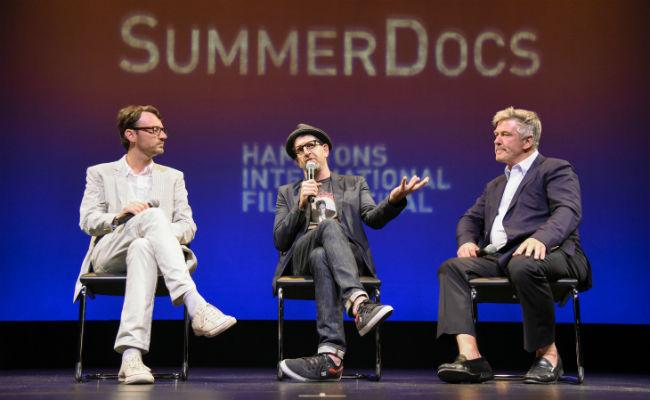 HIFF Author SummerDocs stage shot