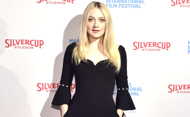 Dakota Fanning at the Closing Night screening of AMERICAN PASTORAL at HIFF 2016. Photo: Eugene Gologursky/Getty Images
