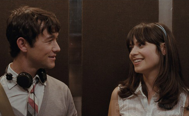 (500) Days of Summer, starring Joseph Gordon-Levitt and Zooey Deschanel