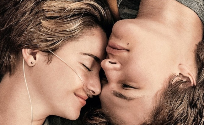 The Fault in Our Stars, starring Shailene Woodley and Ansel Elgort