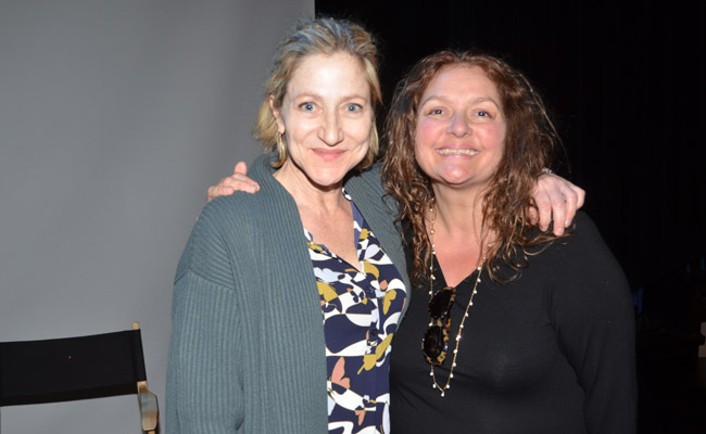 Edie Falco and Aida Turturro at the 25 Years: 25 Films JUDY BERLIN screening at Bay Street Theater