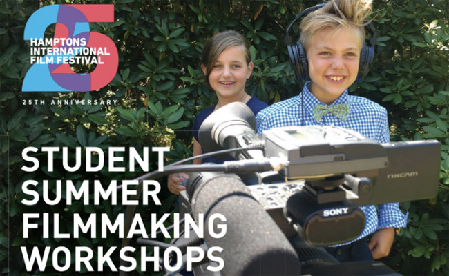Film Camp Returns to the Hamptons!