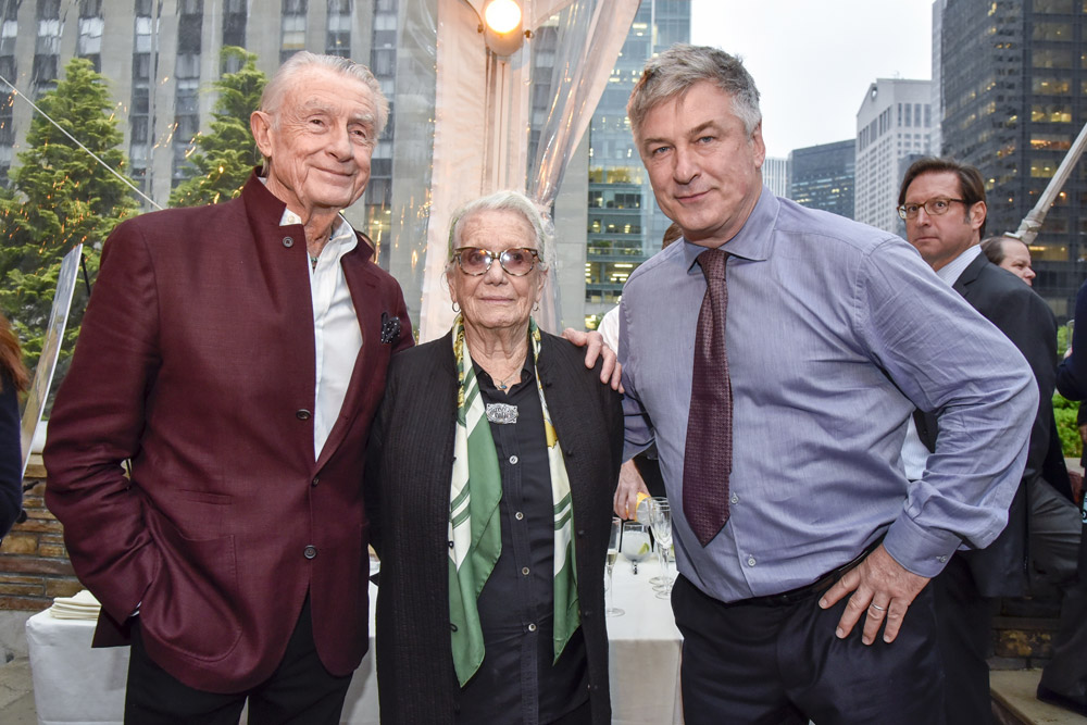 Joel Schumacher, Ann Roth and Alec Baldwin HIFF25 NY