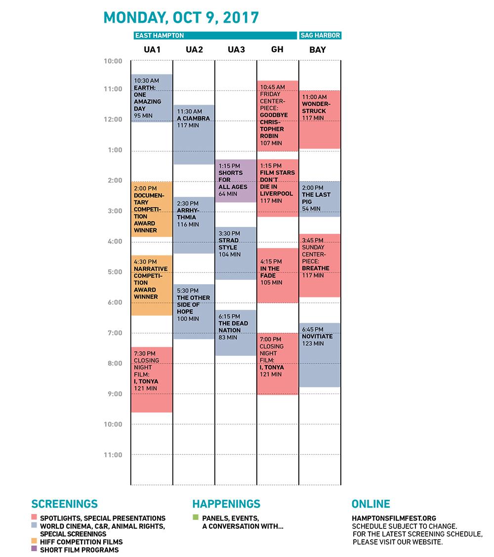 HIFF25 Monday Grid