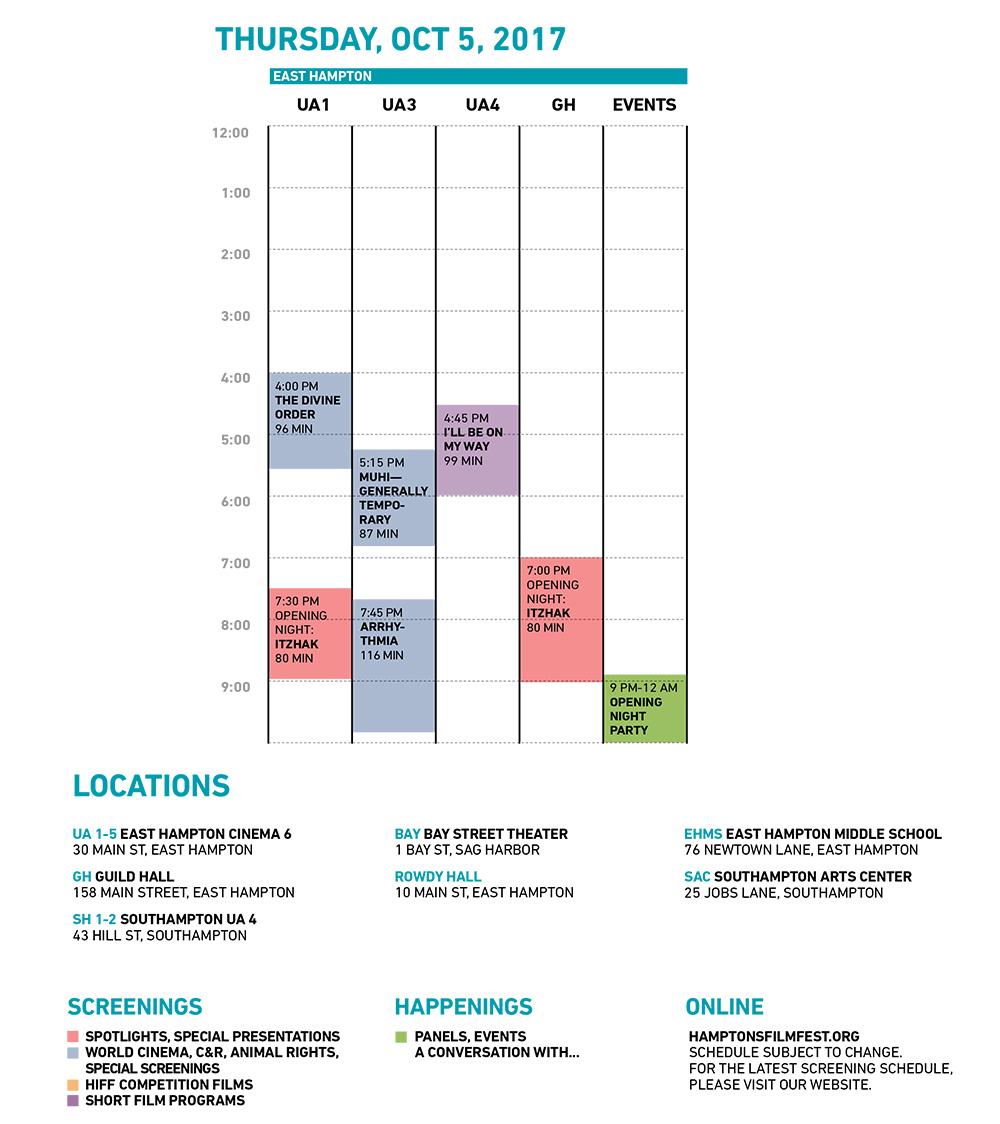 HIFF25 Thursday Grid