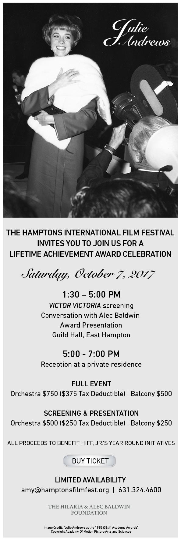 Julie Andrews invite revised