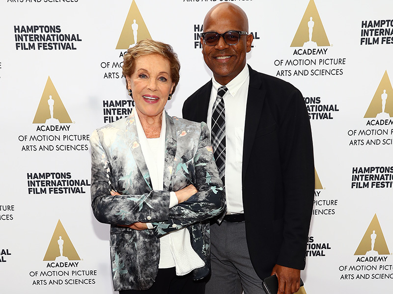 Julie Andrews Patrick Harrison