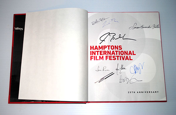HIFF25 Book signatures