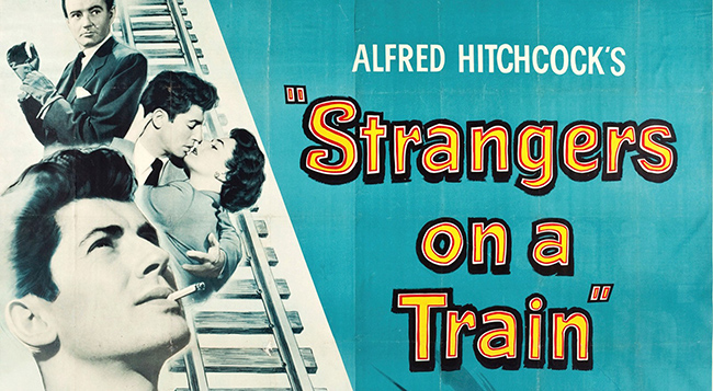 Strangers on a Train poster 2 650 wide