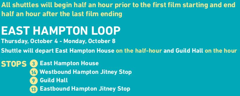 Jitney Map East Hampton 2018