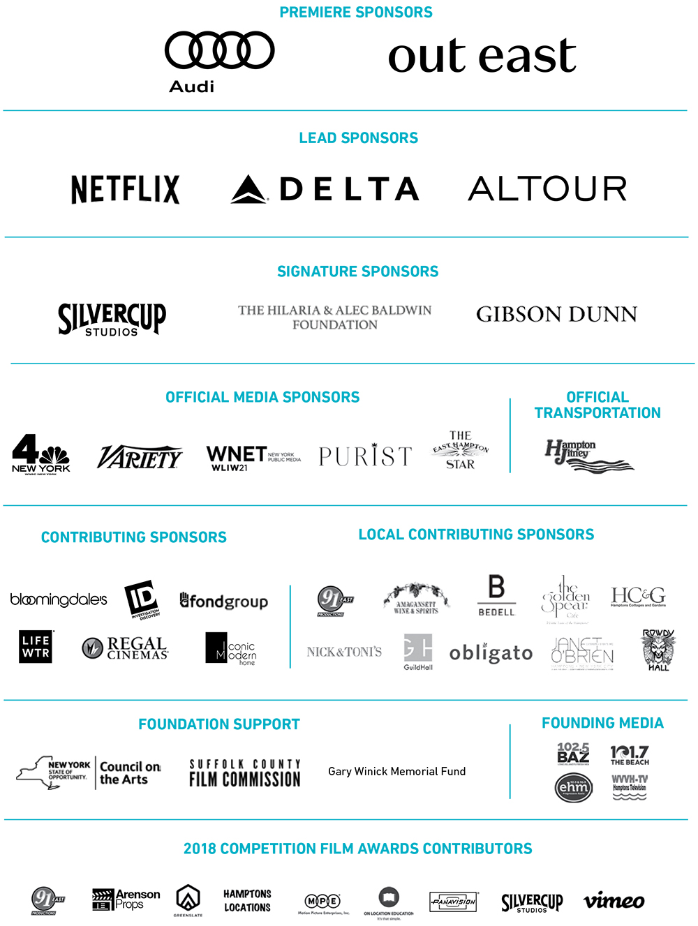 HIFF 2018 Sponsors page 1000