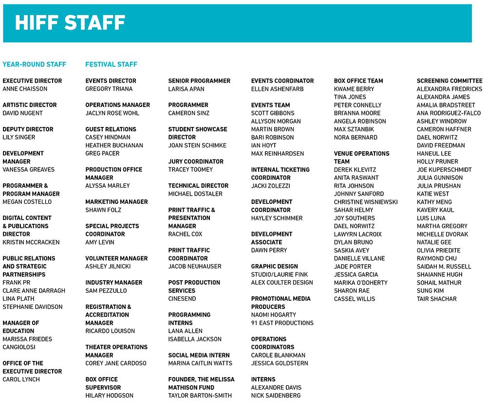HIFF Staff Page 1000