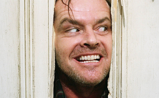 NOW SHOWING: 'THE SHINING' on February 9