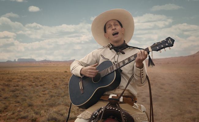 NOW SHOWING: 'THE BALLAD OF BUSTER SCRUGGS' on February 2
