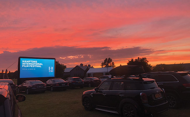 Volunteer at the Drive-In