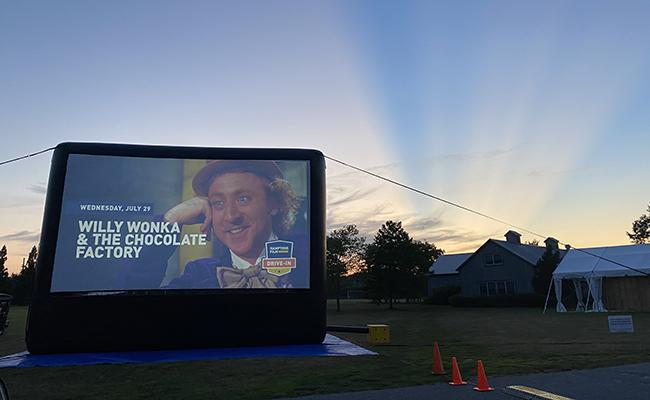 Starting June 2: Outdoor Screenings in Herrick Park