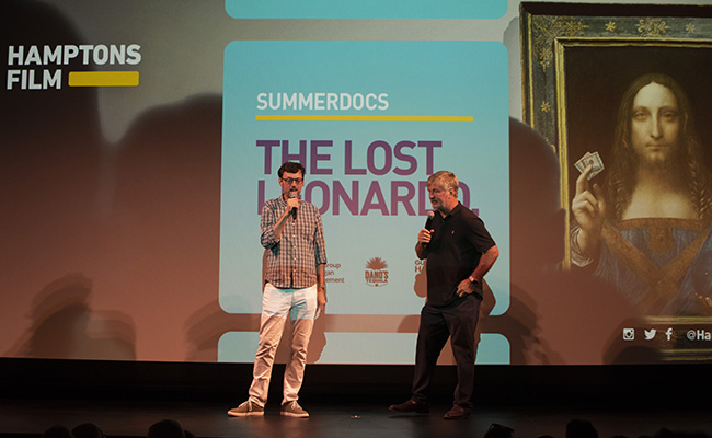 SummerDocs: 'THE LOST LEONARDO' Photos